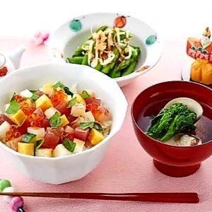 HINAMATSURI traditional foods